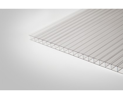 Сотовый поликарбонат Томато 3,70 мм 2100x6000 м прозрачный