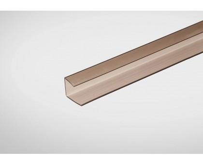 Профиль Полигаль Практичный 4,0 мм x2100 м бронзовый